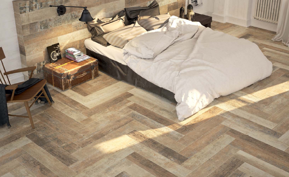 carrelage ext rieur imitation parquet arte del bagno. Black Bedroom Furniture Sets. Home Design Ideas